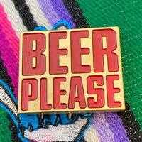 Handmade BEER PLEASE Ball Marker - Limited Edition Cinco de Mayo