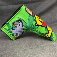 Handmade 4/20 Pooh Bear Putter Headcover - 42 Made