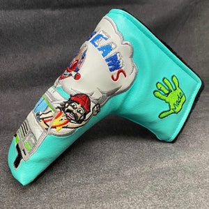 Handmade 4/20 Nice Dreams Putter Headcover