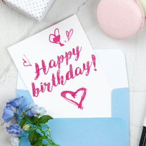 Add a Birthday Card