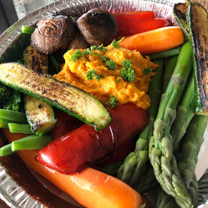 RAINBOW VEGETABLES & SWEET POTATO MASH (V)