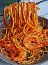 Load image into Gallery viewer, PRAWN, BASIL & TOMATO PASTA