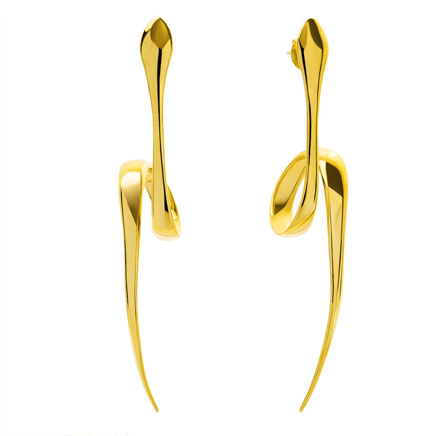 The Essential Snakes 18K Gold Plated Silver 925° Earrings