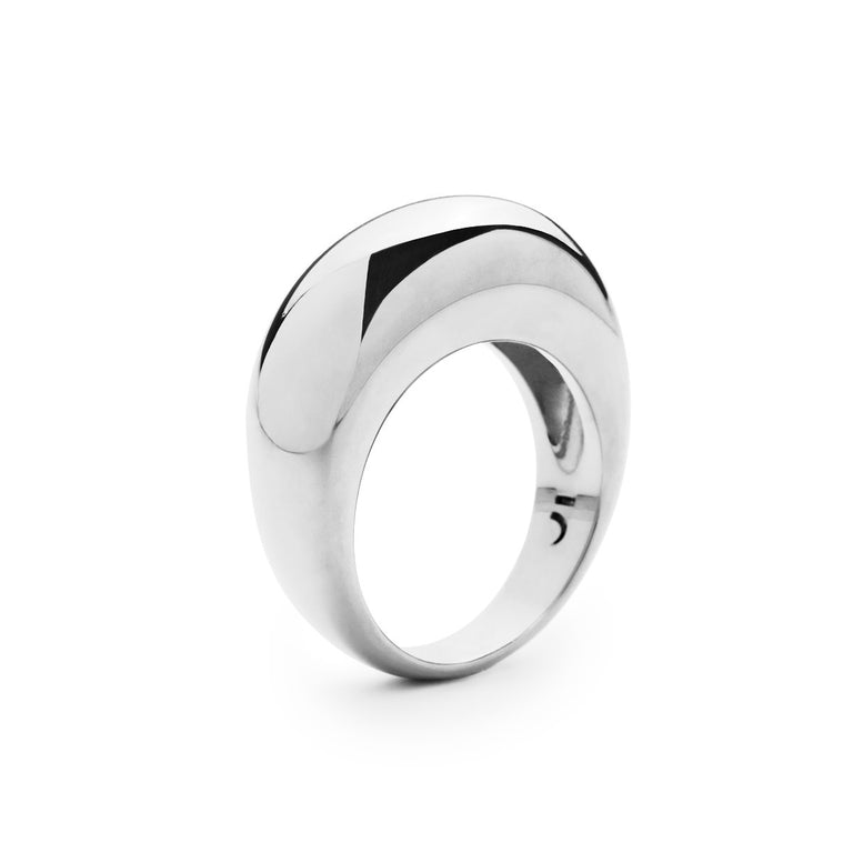 The Essential Forms Bulky Silver Ring