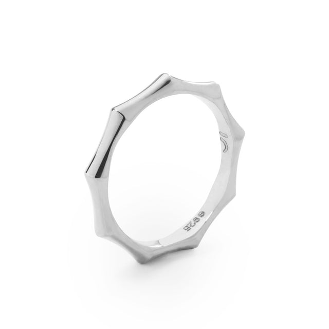 The Essential Bamboo Silver Ring