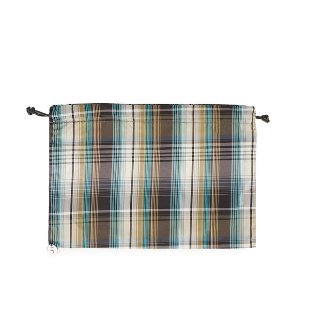 Pouch for Checkered Turquoise, Medium