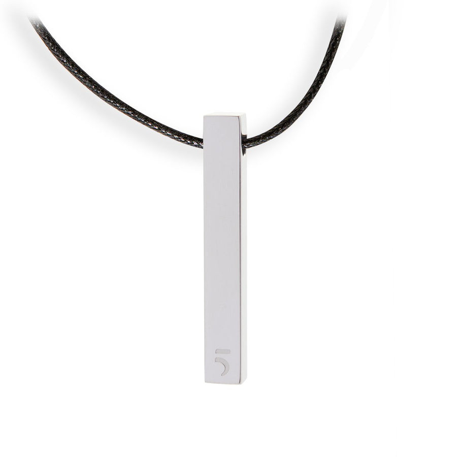 The Essential Rock 5Bar Silver 925° Necklace
