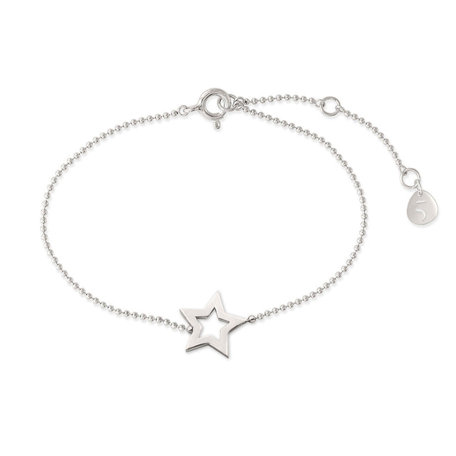 THE ESSENTIAL MINI STAR SILVER BRACELET