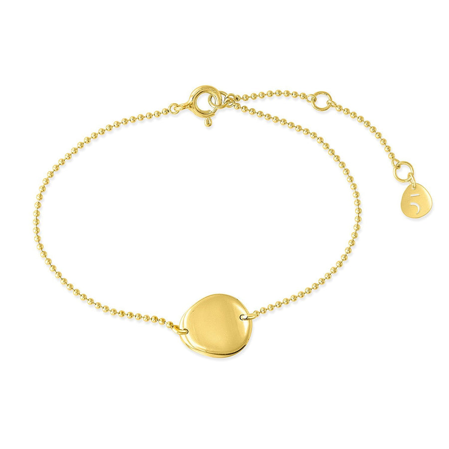 The Essential Coin Mini 18K Gold Plated Silver 925° Bracelet
