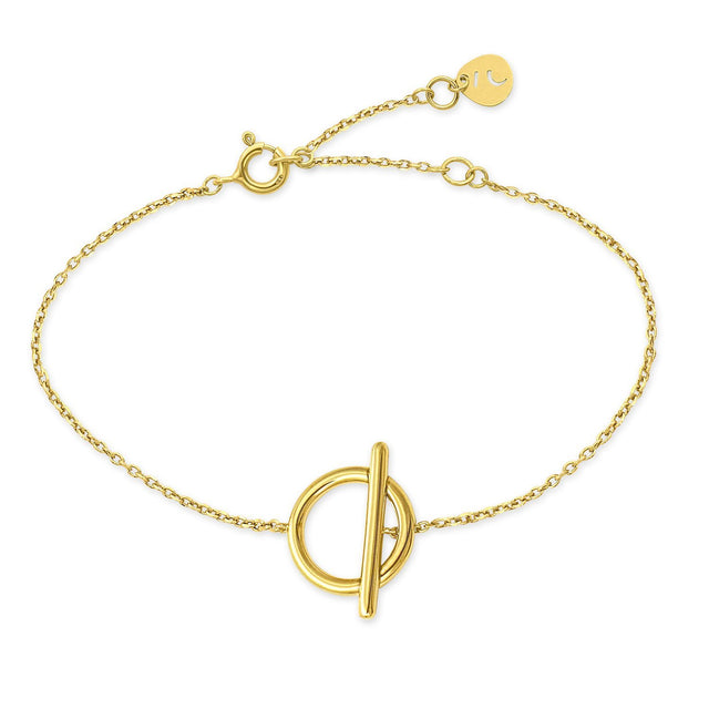 The Kyklos Gold Plated Bracelet