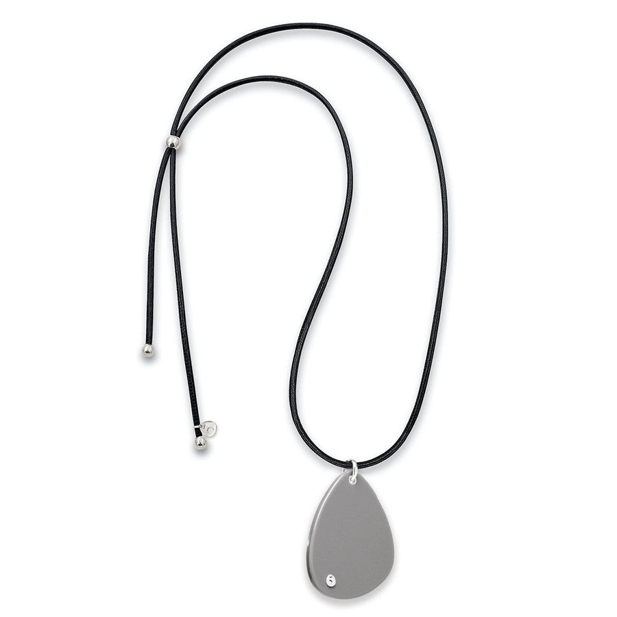 The Eclectic Irregular Big Grey Necklace
