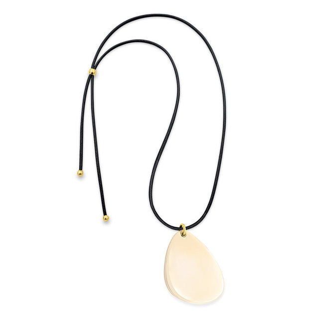 The Eclectic Irregular Ivory Necklace