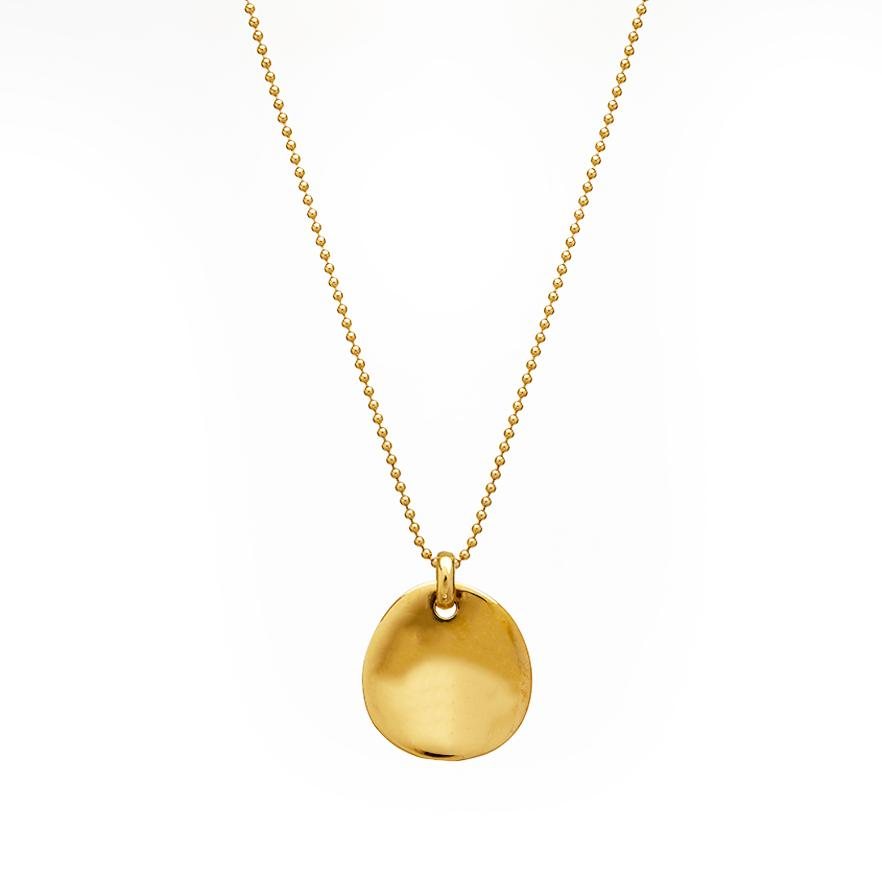 The Essential Coin 18K Gold Plated Silver 925° Necklace