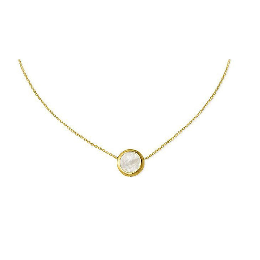 The Enriched Selene Small 18K Gold Plated Silver 925° Necklace