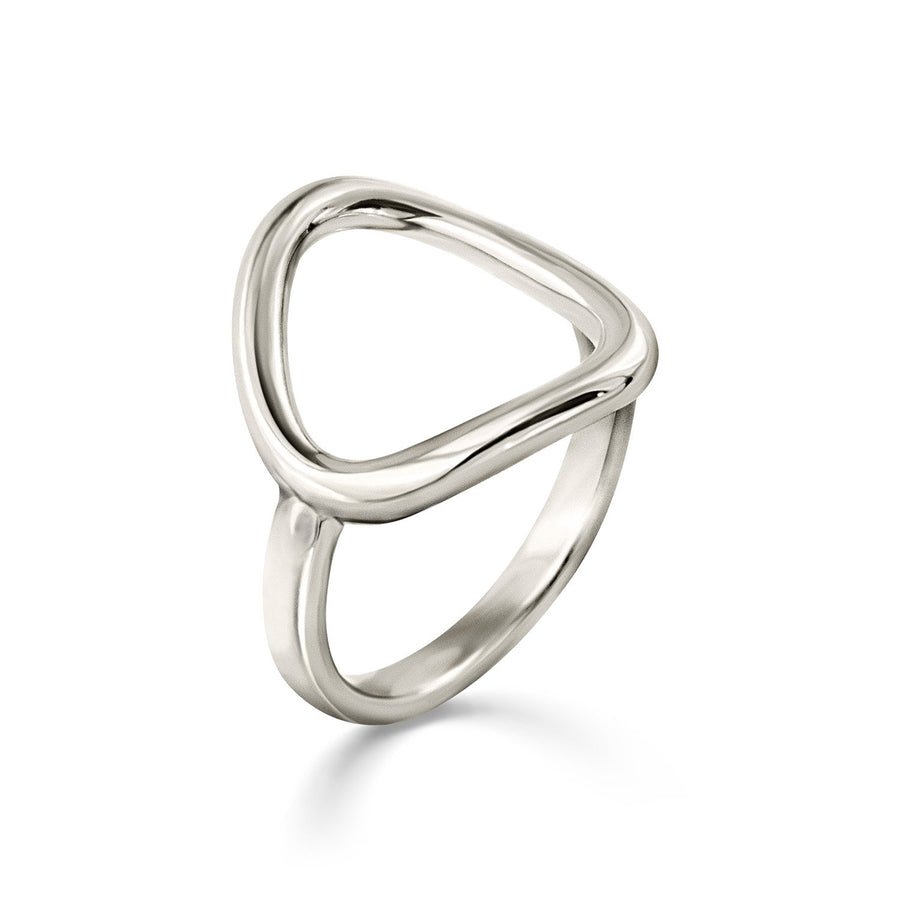 The Essential Forms Irregular Silver 925° Ring