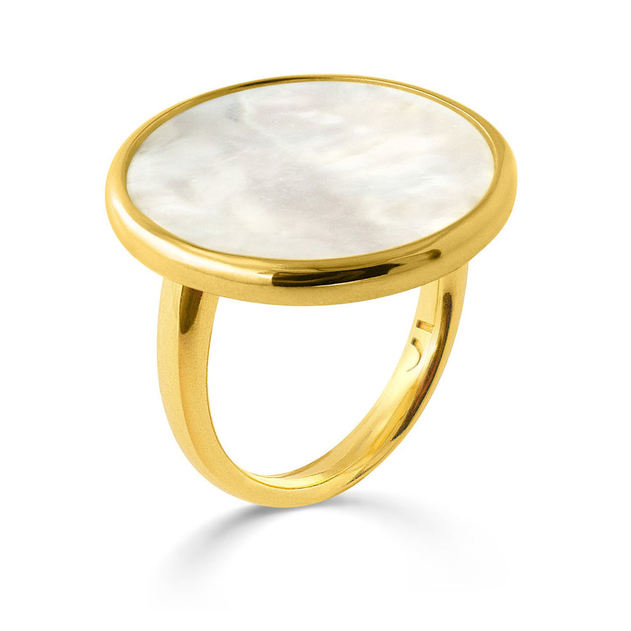 The Enriched Selene 18K Gold Plated Silver 925° Ring