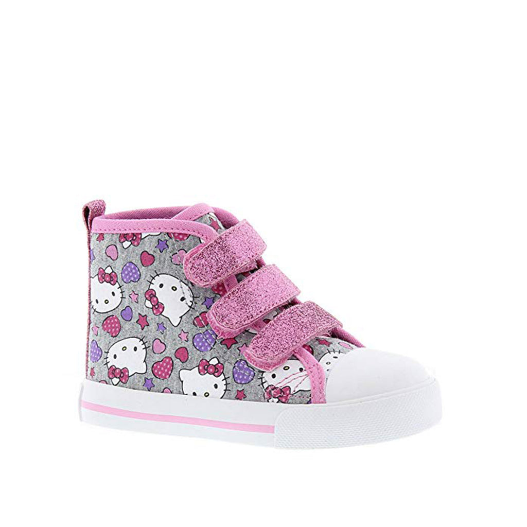 Hello Kitty Girls' Hi-Top Sneakers Toddler