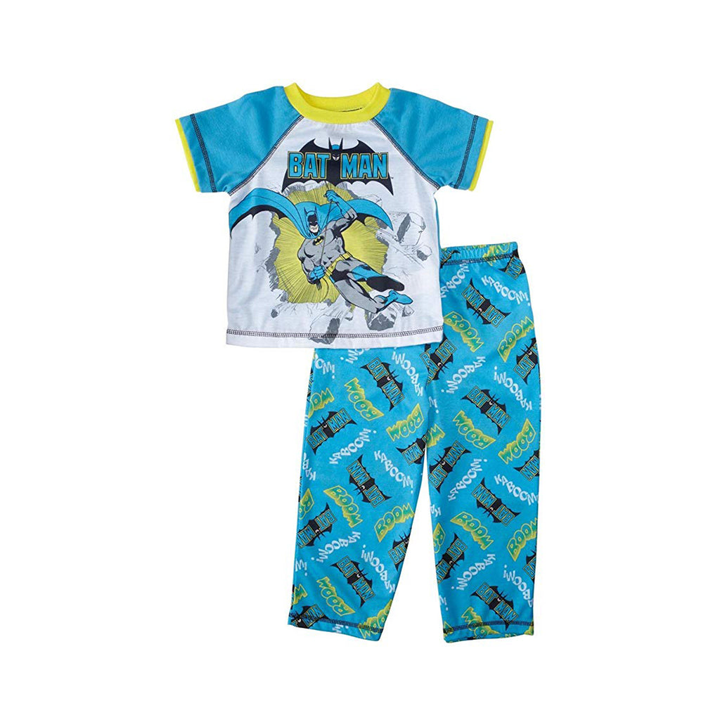DC Comics Toddler Boys' Batman 2 Piece Pajama Set