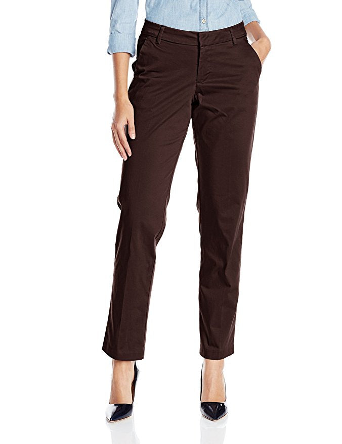 LEE MODERN SERIES CURVY-FIT RENNIE STRAIGHT-LEG PANT