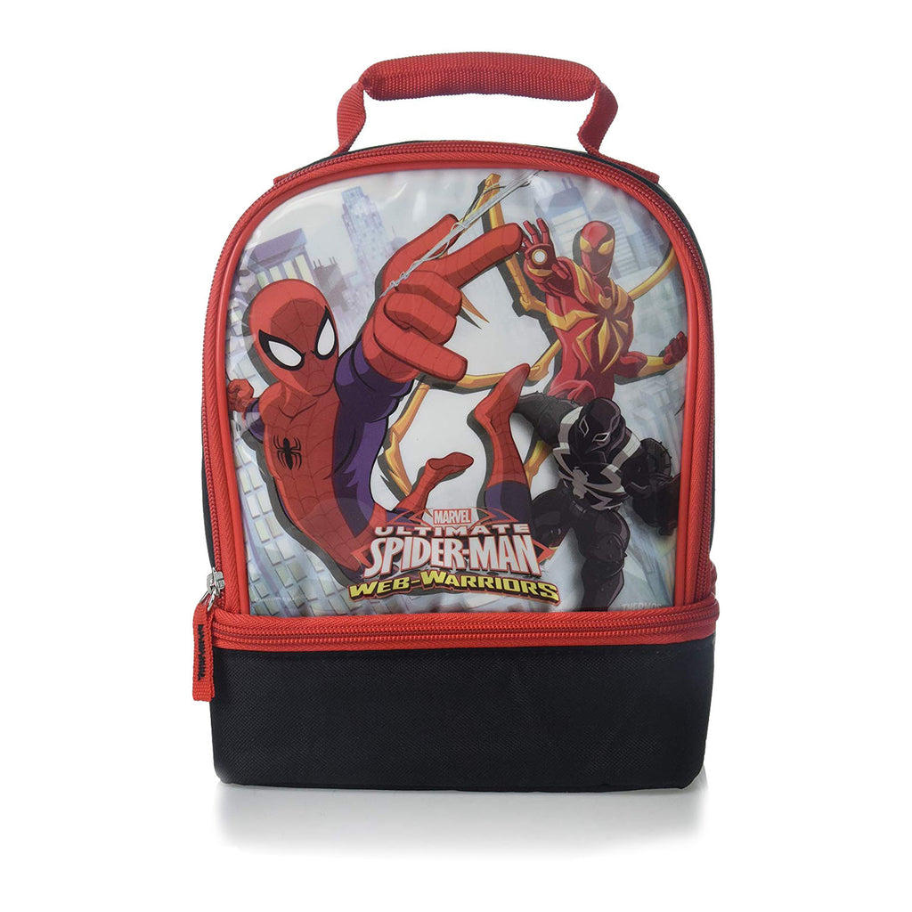 Thermos Spider-Man Insulated Double Compartment Lunch Bag