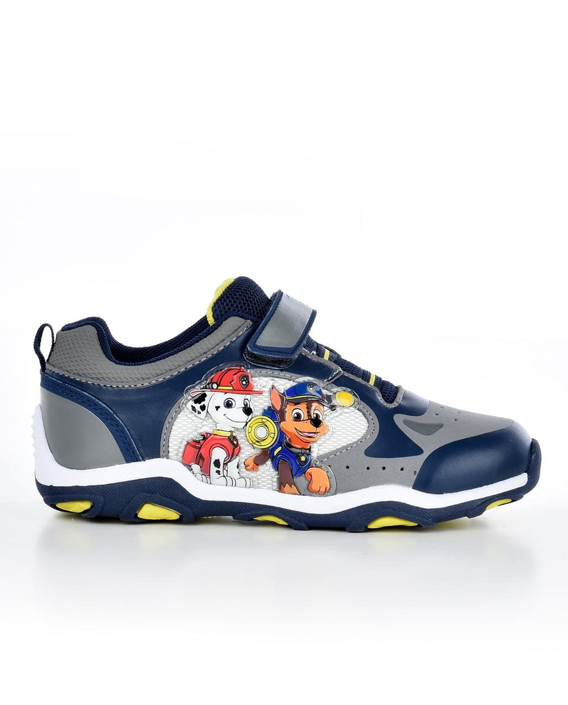NICKELODEON PAW PATROL KIDS STRAP CLOSURE LIGHTED ATHLETIC SNEAKERS