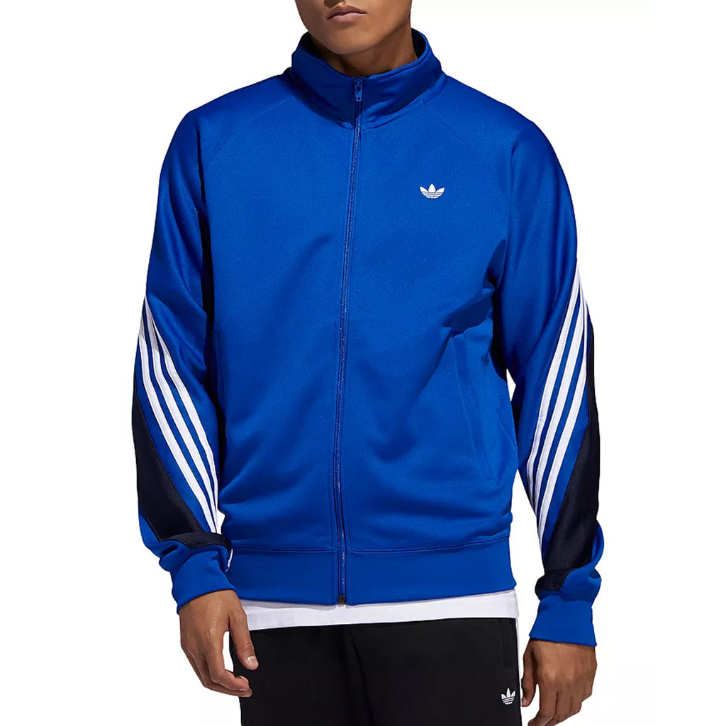 Adidas Men's 3-Stripes Wrap Track Jacket