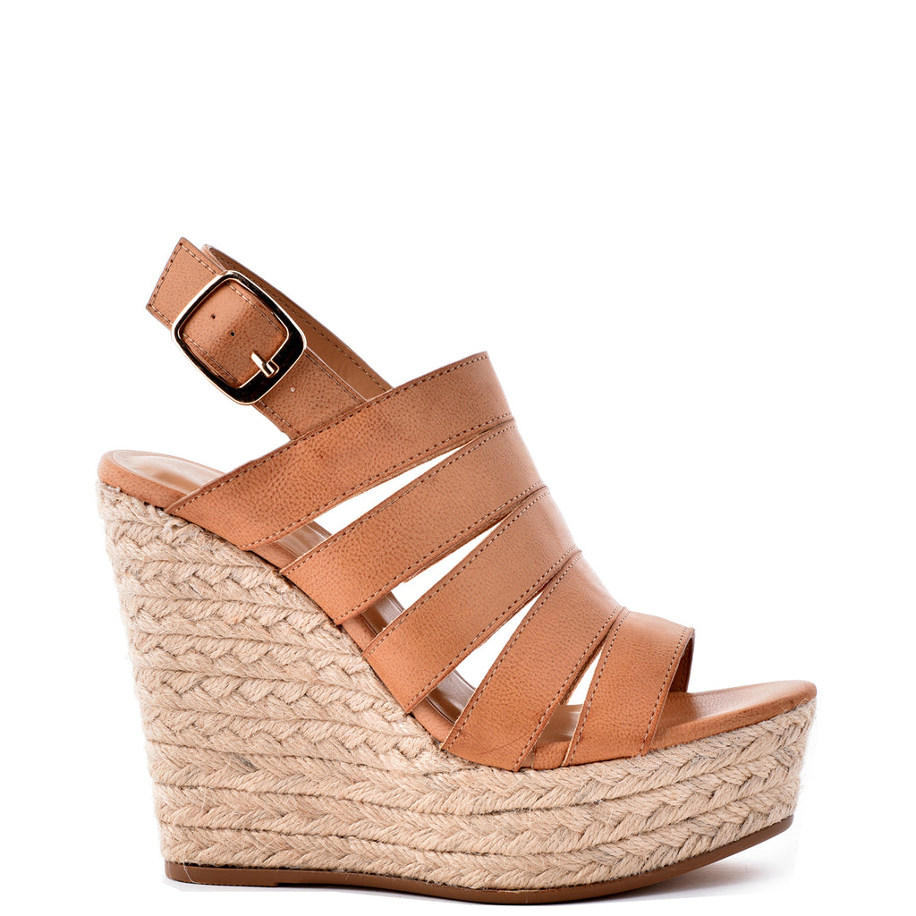 JP Original Choice-04s Strappy Espadrille Wedge