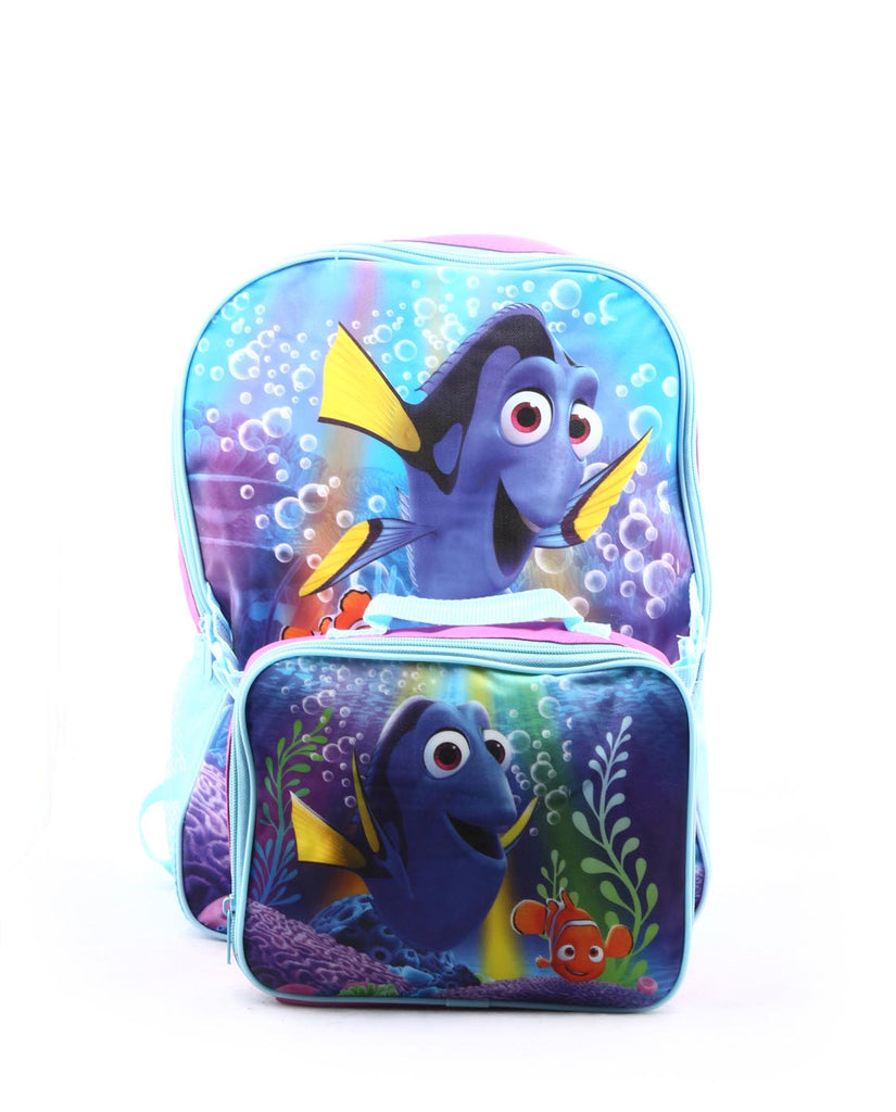 DISNEY FINDING DORY BACKPACK & DETACHABLE LUNCH BAG SET