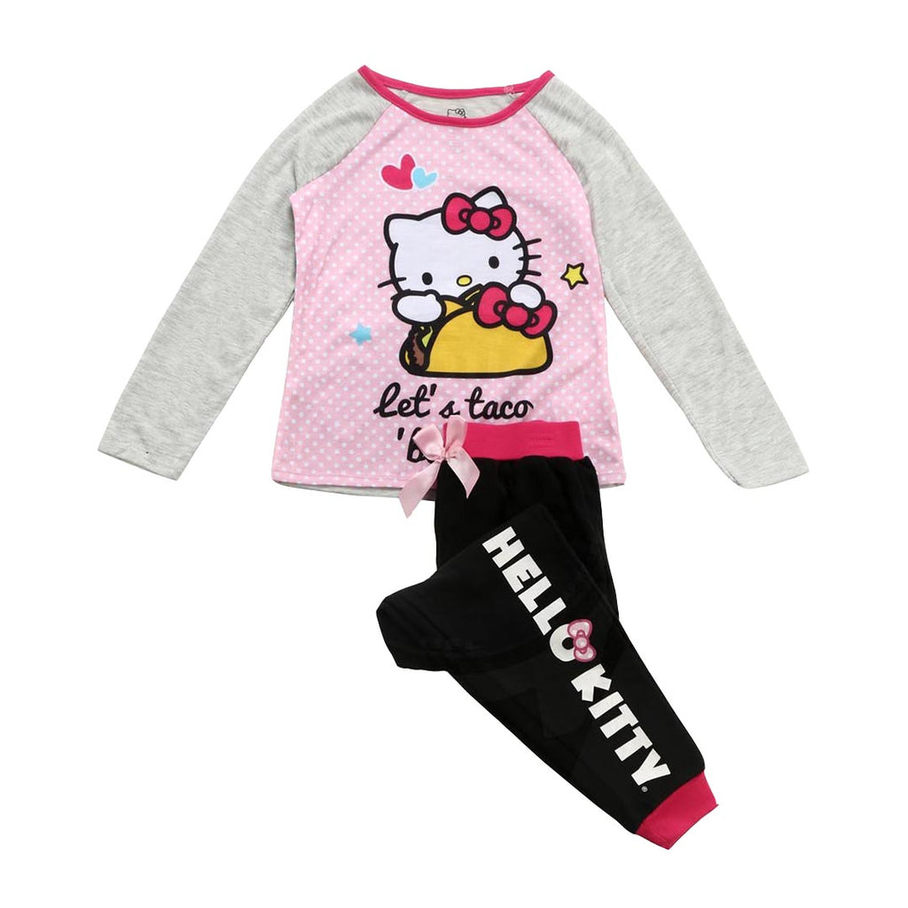 "HELLO KITTY ""TACO"" 2 PIECE SLEEP SET"