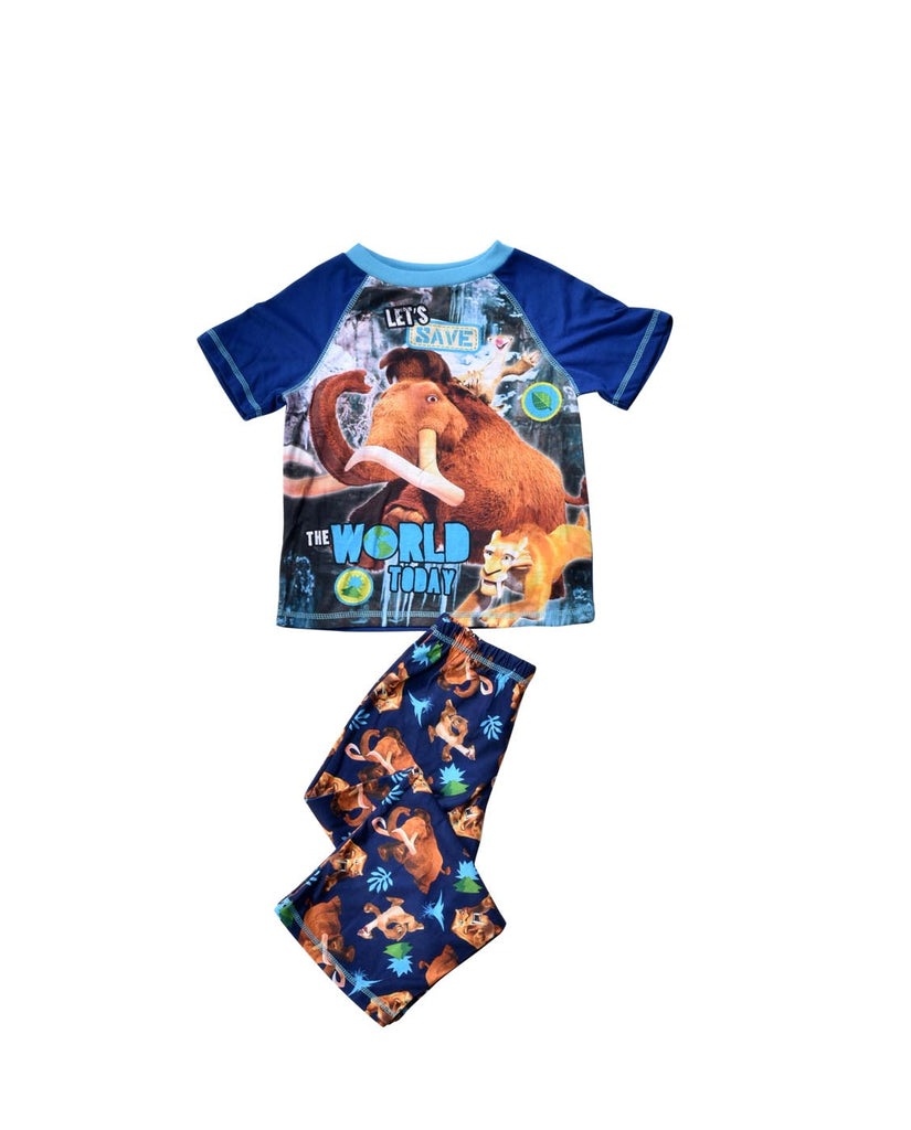 ICE AGE 2 LET'S SAVE THE WORLD TODAY PAJAMA SET