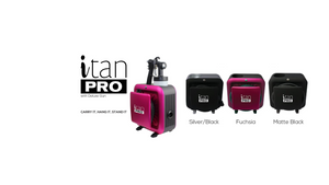i Tan Pro – Matte Black (with M series gun)