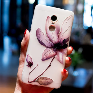 BROEYOUE Flower Disign Case - The Online Saving