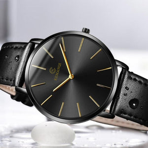 Luxury Ultra-thin Wrist Watch For Men - The Online Saving