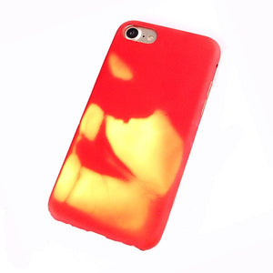 Heat Sensitive Case for Iphone Changed Color Thermal Sensor Case - The Online Saving