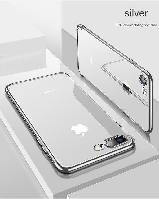 New Jelly Clear Soft Case for iPhone - The Online Saving