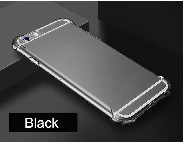 Super Shockproof Clear  Case - The Online Saving