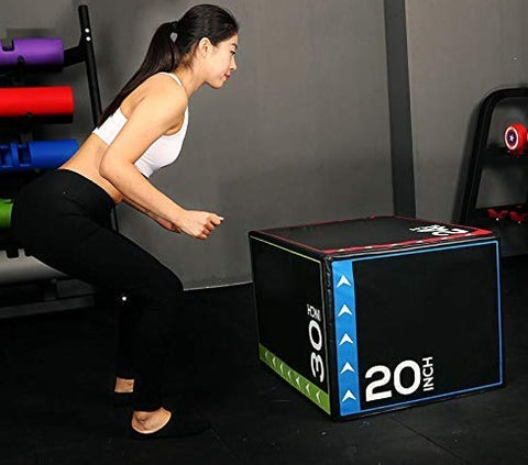 Vice Versus Soft-Sided Plyo Box Jump