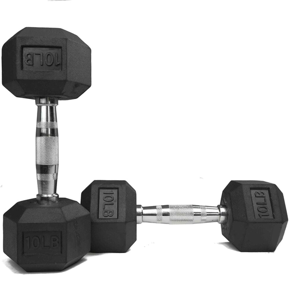 YORK Premium PVC Hex Dumbbell