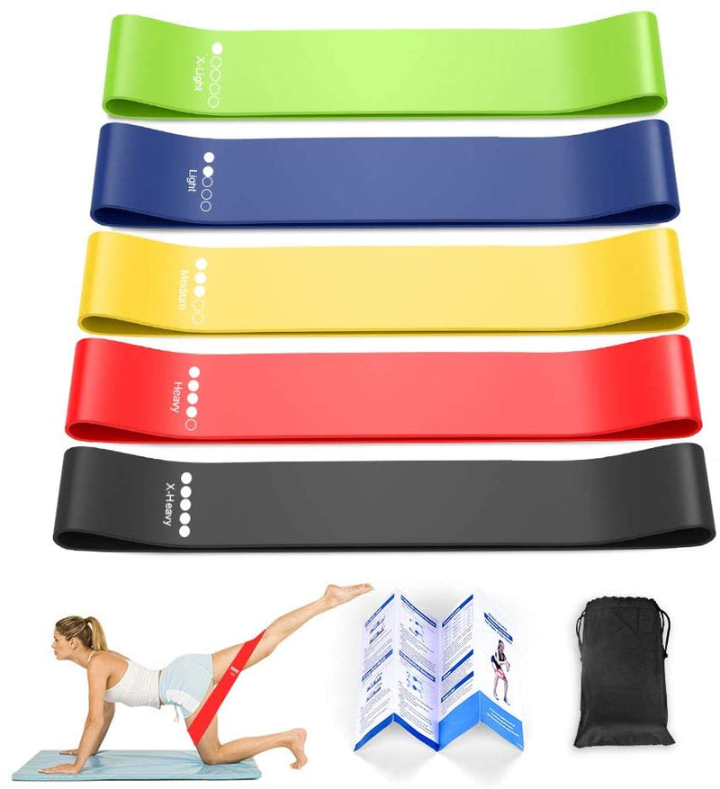 Set of 5 Loop Bands (Resistance band)