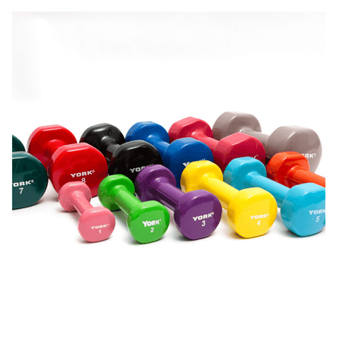 York Fitbell Vinyl Dumbbell