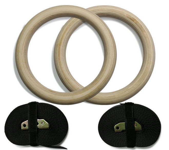 VICE-VERSUS Wood Gym Rings