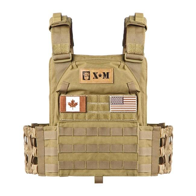 XM Tactical Weighted Vest - 10 to 20 lbs