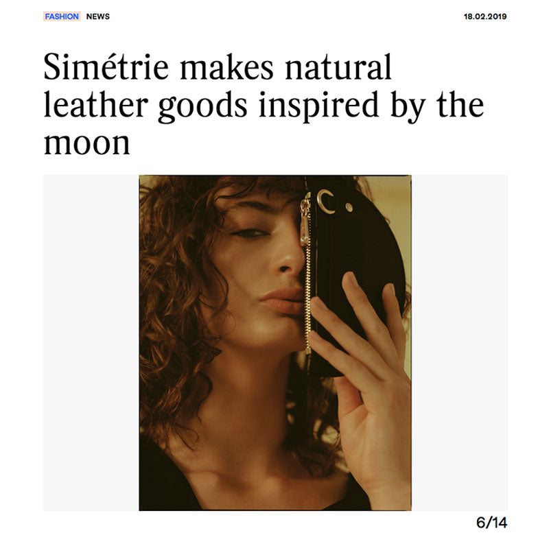 fashion journal - simétrie makes natural goods inspired by the moon