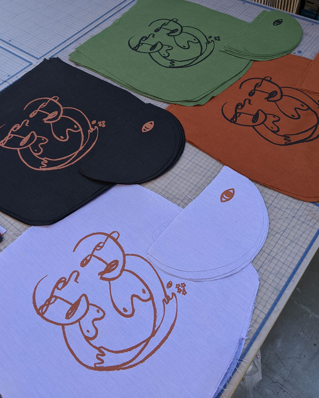 screen printing done by OPM Design