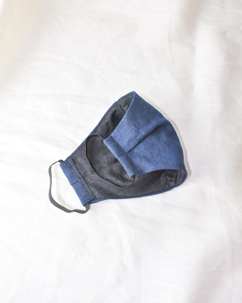 cloth face mask / navy