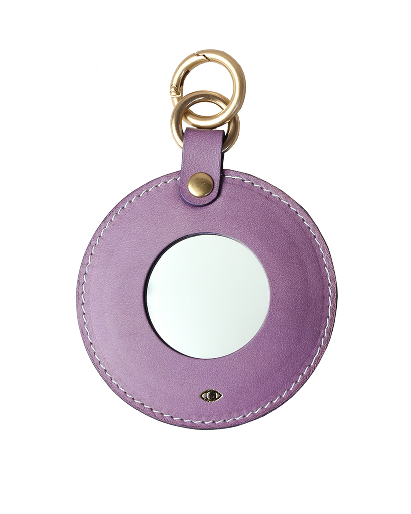 full moon mirror charm / lavender