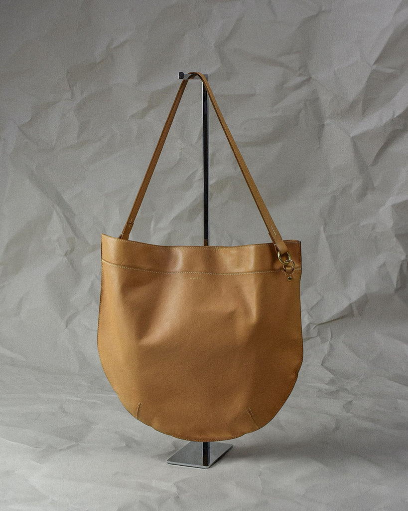 crescent moon tote bag / natural
