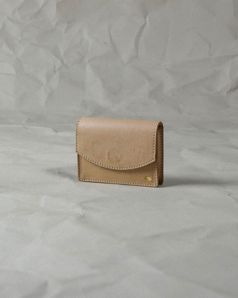 new moon card case / natural