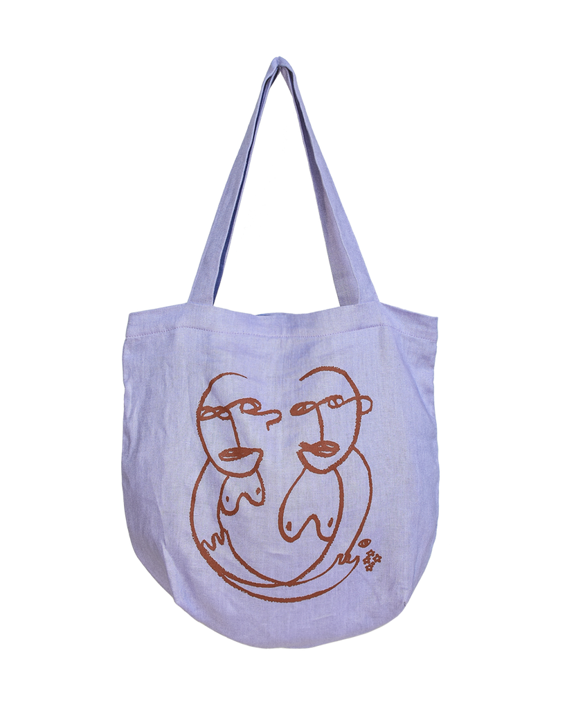 sisterly tote / lavender