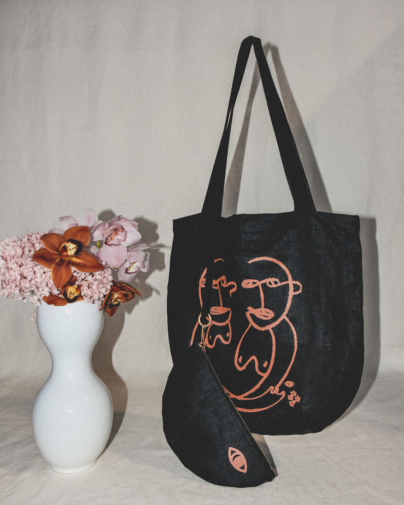 sisterly tote / night
